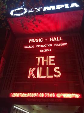 The Kills le 19/10 Olympia